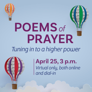 Poetry Event - April 25, 2021