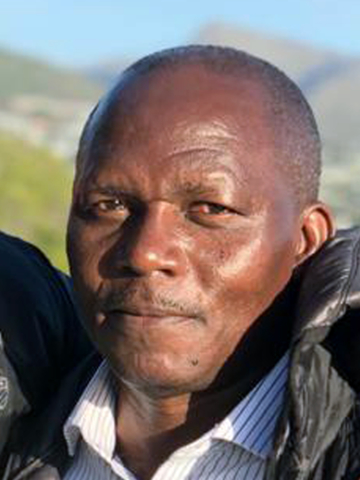 Portait of André Kisonga, CSB