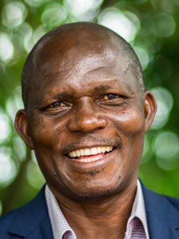 Portait of André Kisonga, CSB