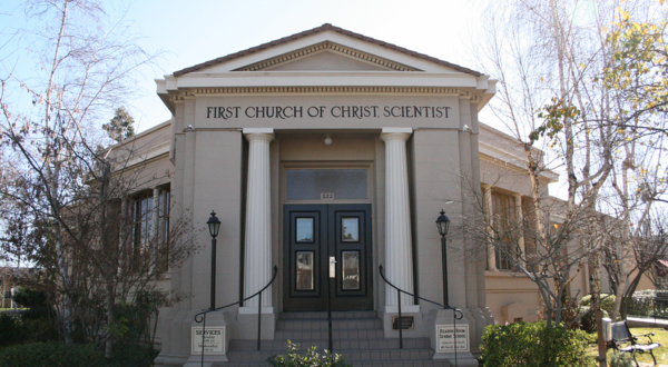 A Christian Science Branch church