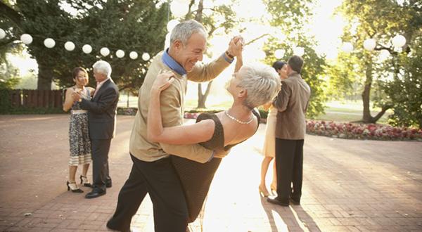 Mit Freude wieder tanzen