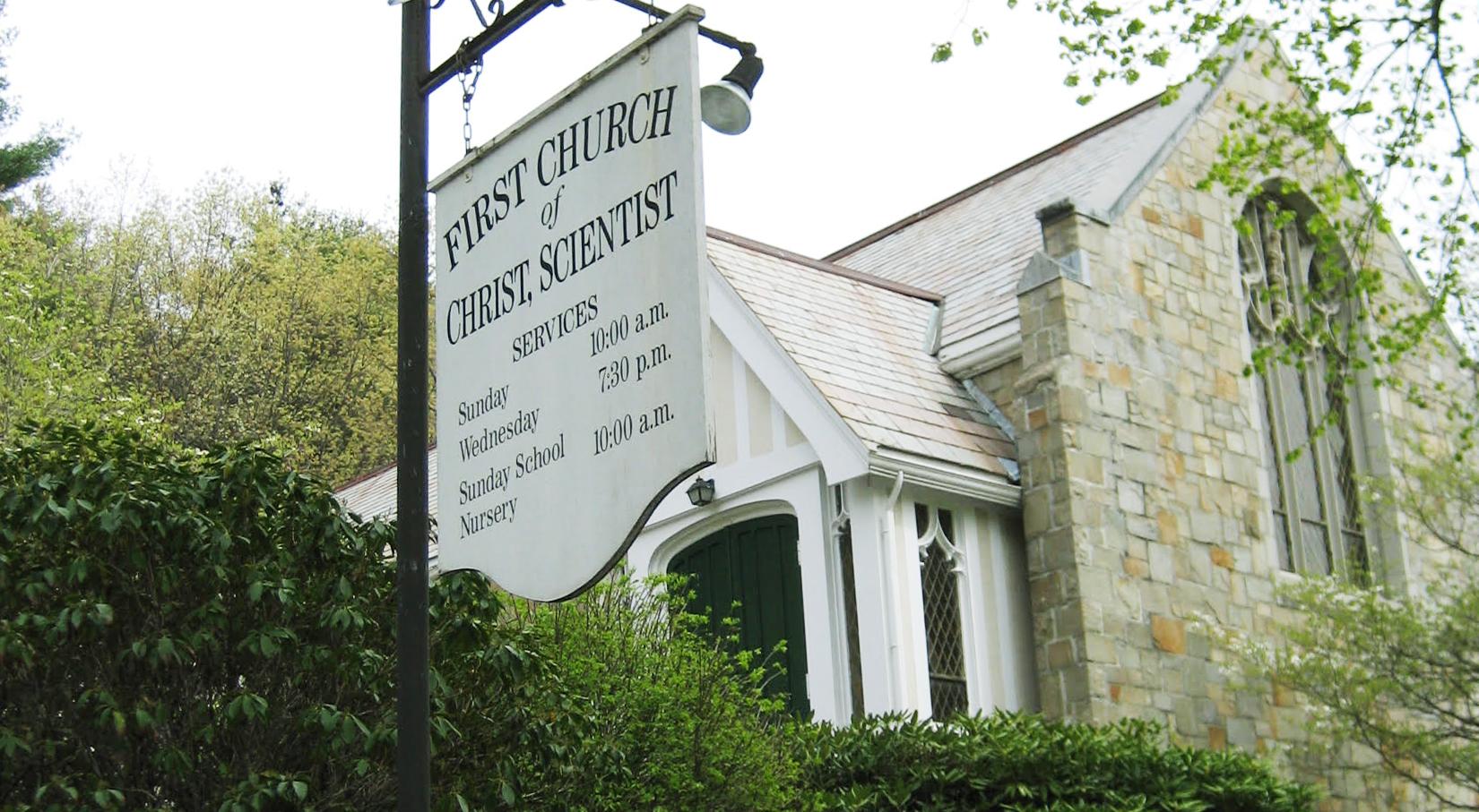 A Christian Science branch church