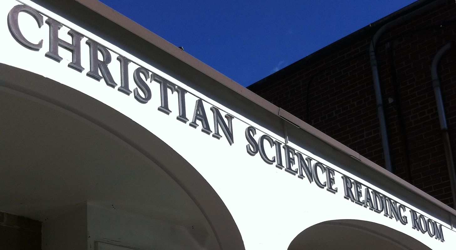 A Christian Science Reading Room