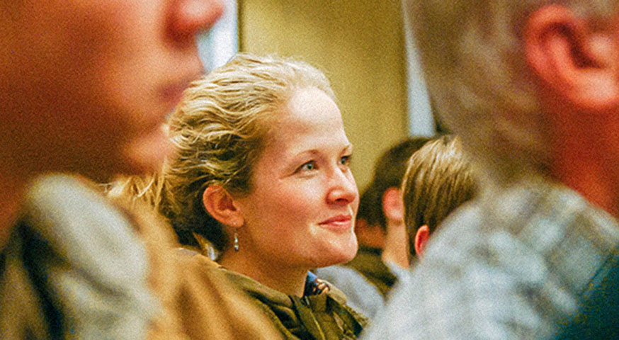 Smiling At Church