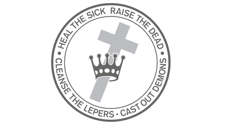 Link to Beliefs and teachings page (Cross and Crown logo)