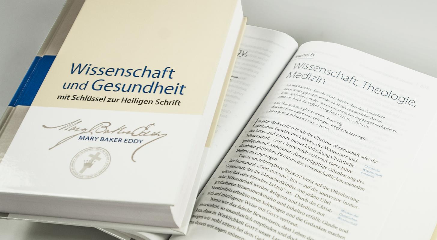 Wissenschaft und Gesundheit mit Schlüssel zur Heiligen Schrift