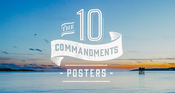 10 Commandments - Posters