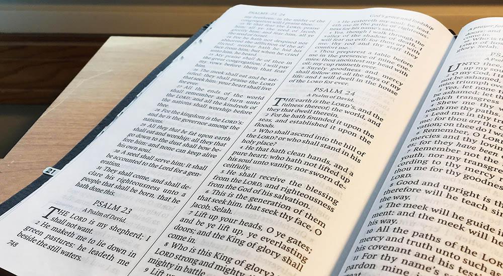 The Bible (KJV), Psalms 23