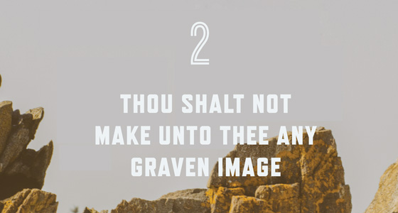 2nd Commandment Poster