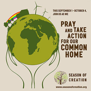 Pray and take action for our common home