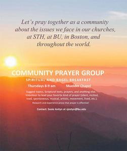 Community Prayer Group at Boston University