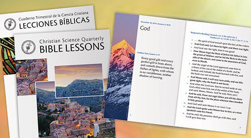 The Christian Science Bible Lesson