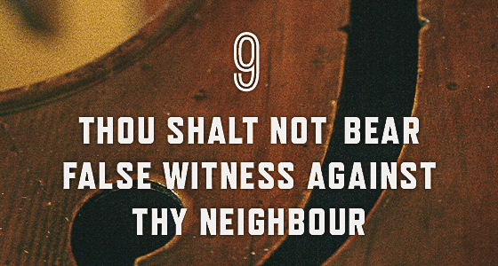 9th commandment